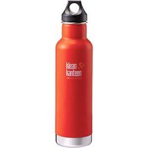 Klean Kanteen Insulated Classic 20oz Orange Matte